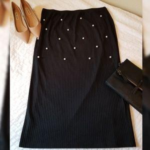 NWOT midi pencil skirt